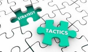 פרסום דיגיטלי, המעבר מאסטרטגיה לטקטיקה