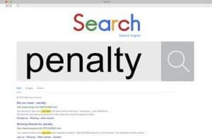 ענישה מצד גוגל
